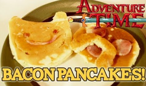 How to Make Bacon Pancakes from 'Adventure Time'