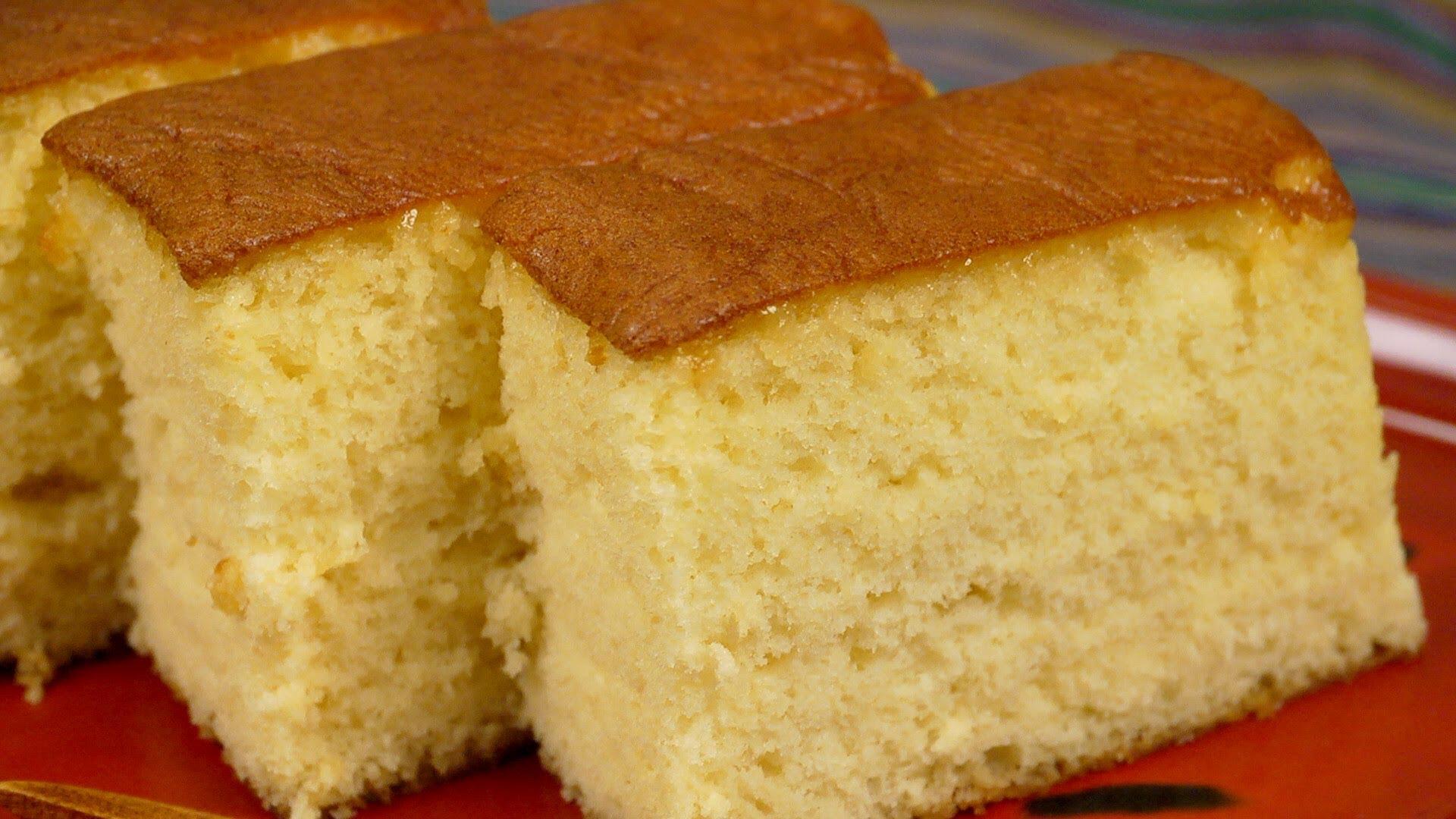 How to Make Kasutera Sponge Cake