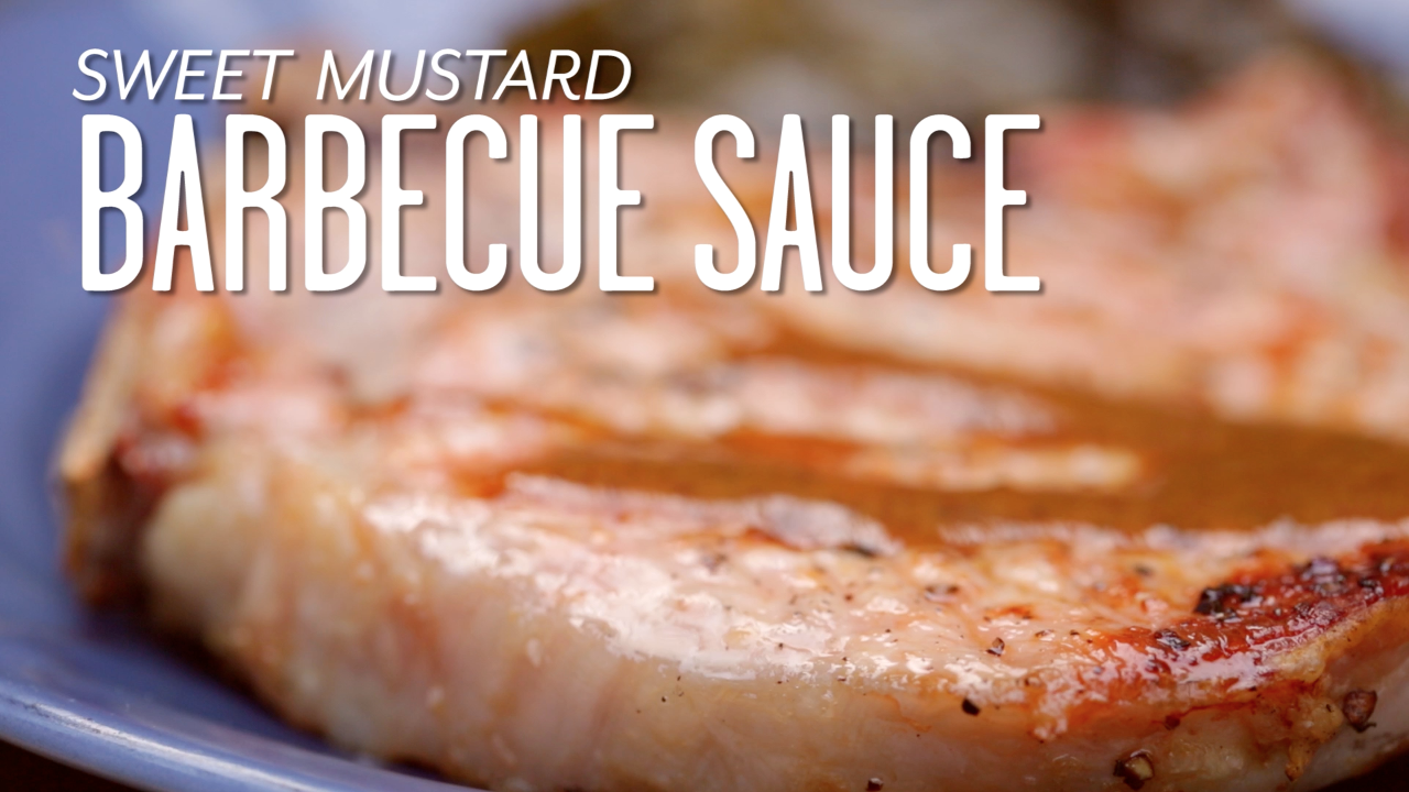 How to Make Sweet Mustard Barbecue Sauce