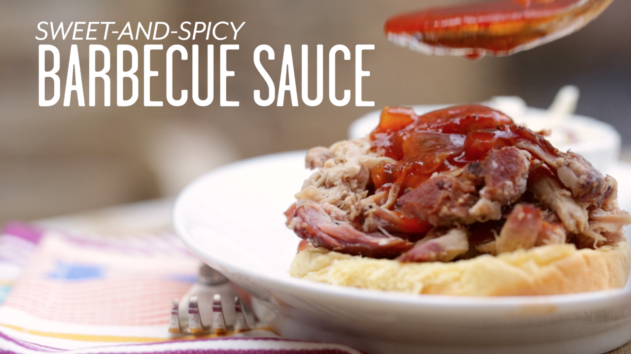 How to Make Sweet-and-Spicy Barbecue Sauce