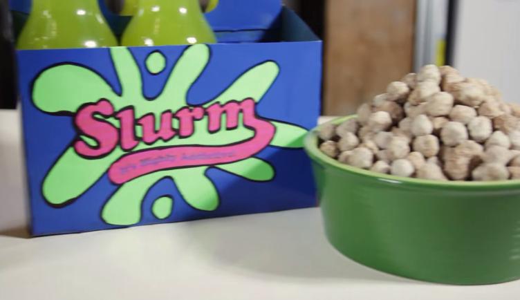 How to Make Slurm and Bachelor Chow from 'Futurama'