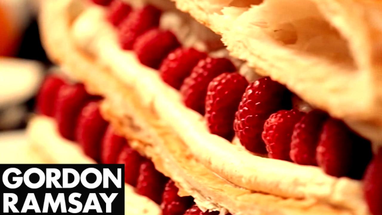 Gordon Ramsay's Raspberry Millefeuille Recipe