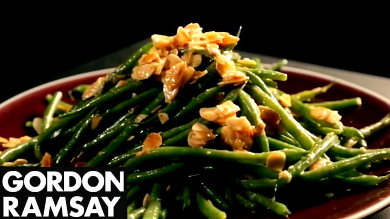 Green Bean Salad Recipe With Mustard Dressing - Gordon Ramsay
