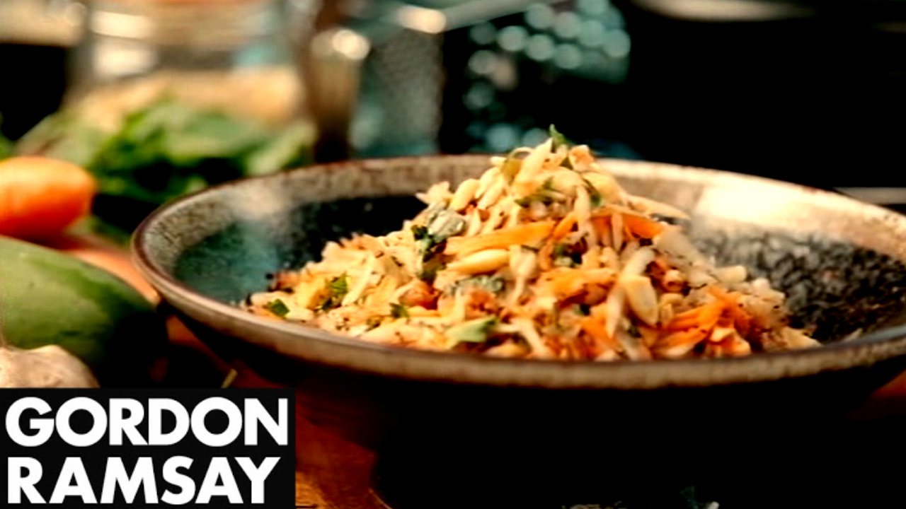 Green Papaya Salad Recipe - Gordon Ramsay