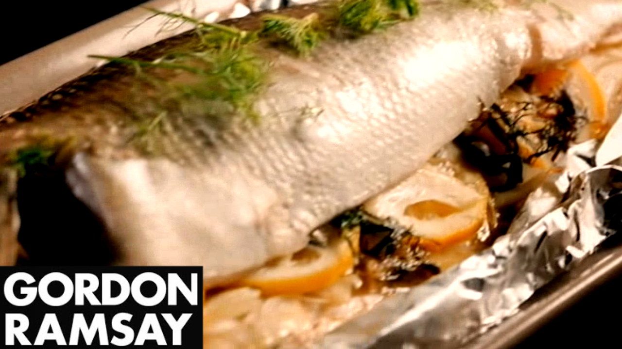 How to Make Seabass With Fennel, Lemon and Capers - Gordon Ramsay