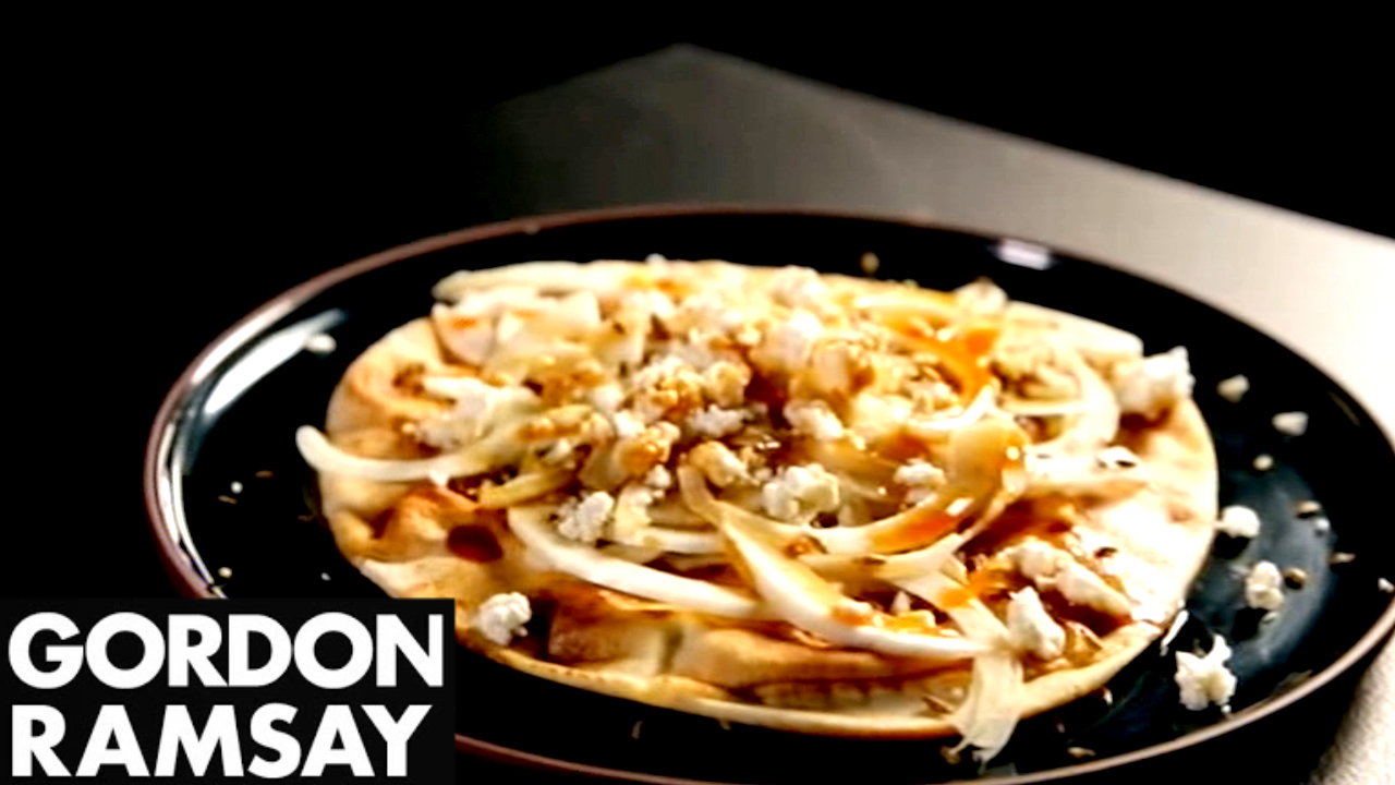 How to Make Flatbreads with Fennel and Feta - Gordon Ramsay