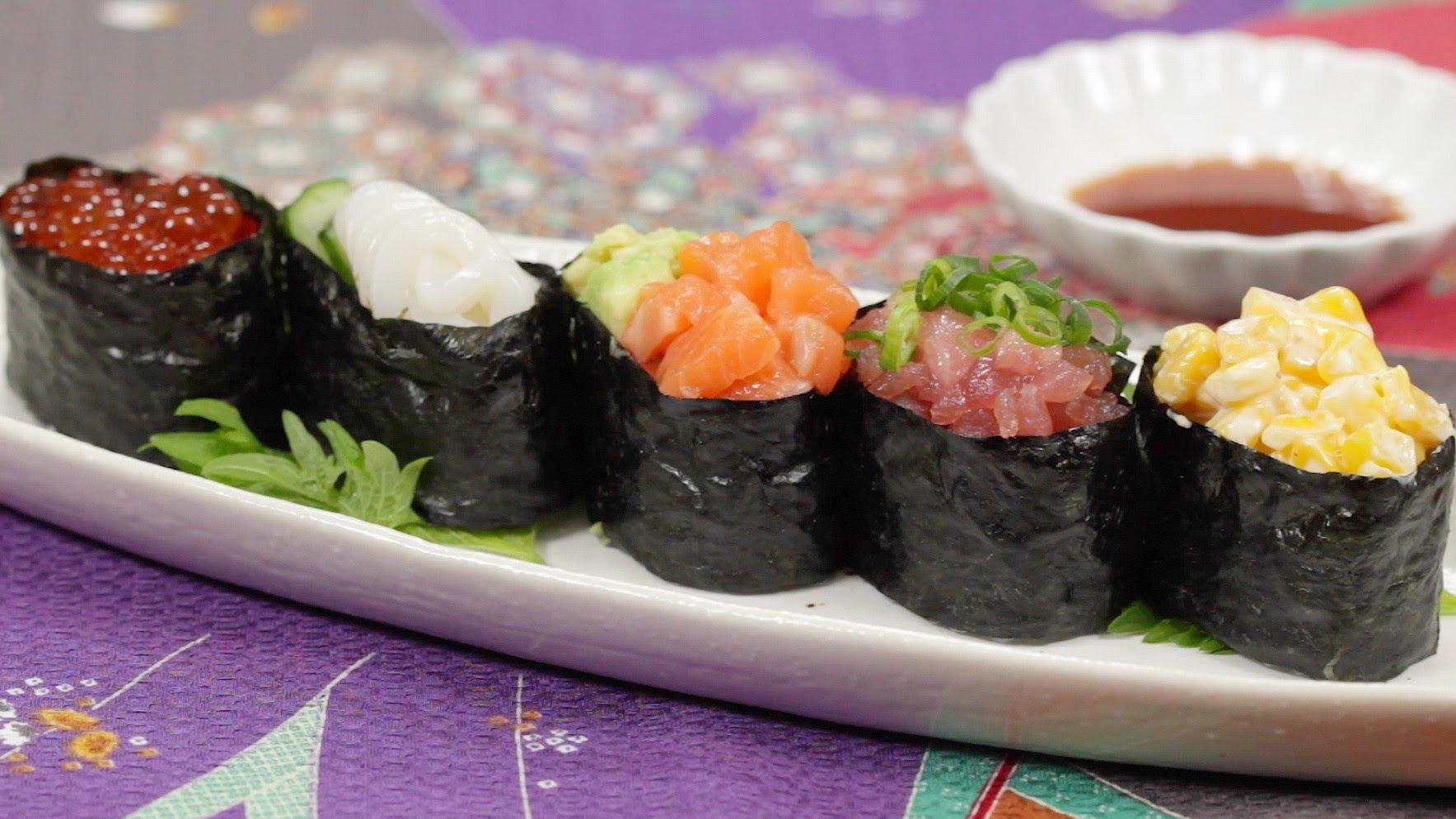How to Make Gunkanmaki Sushi Recipe