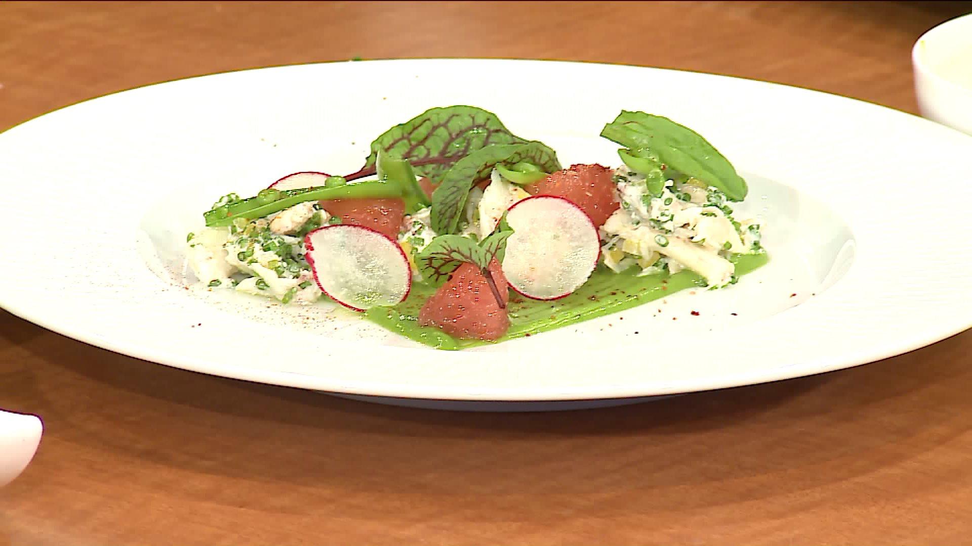 How To Make a Summer Crab Salad