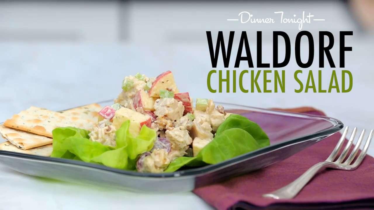 How to Make Waldorf Chicken Salad
