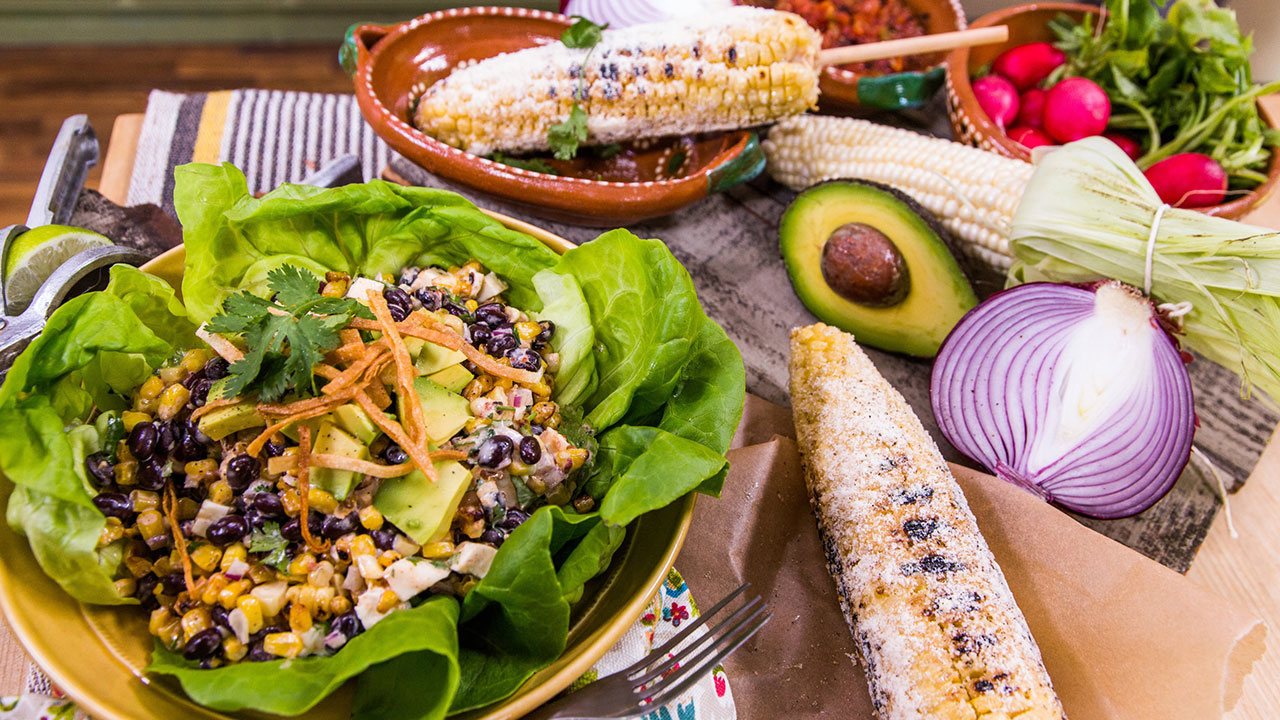 Susan Feniger's Black Bean and Esquite Salad Recipe