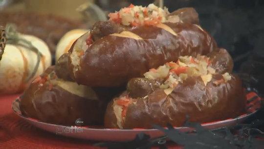 Chef Nadia G's Spicy Italian Sausage Sandwich Recipe