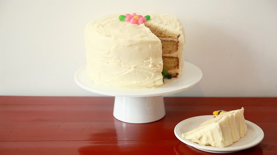 How to Make an Easter Surprise Cake