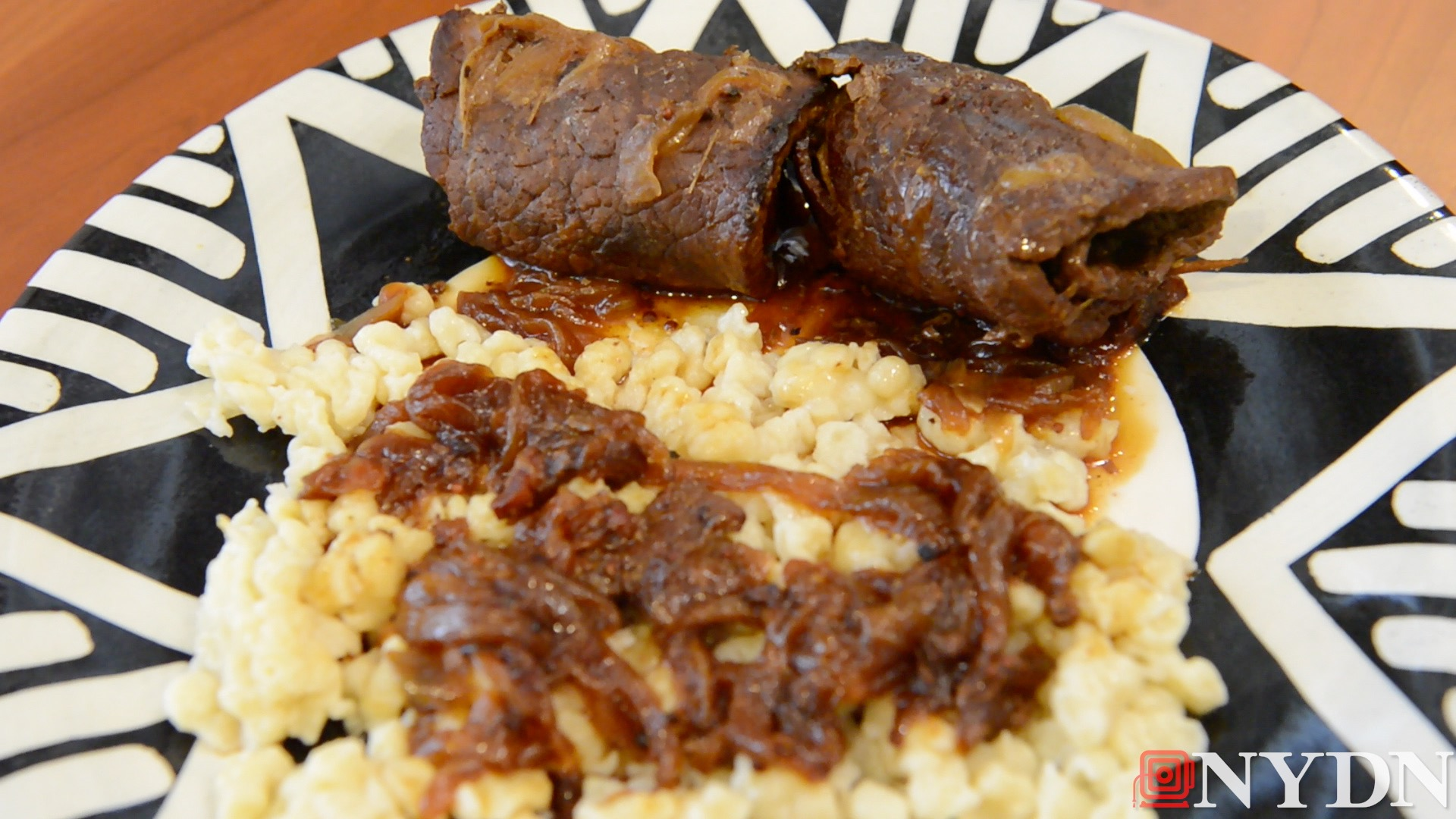 EthNYC Eats: Rouladen and Spaetzle with Grandma