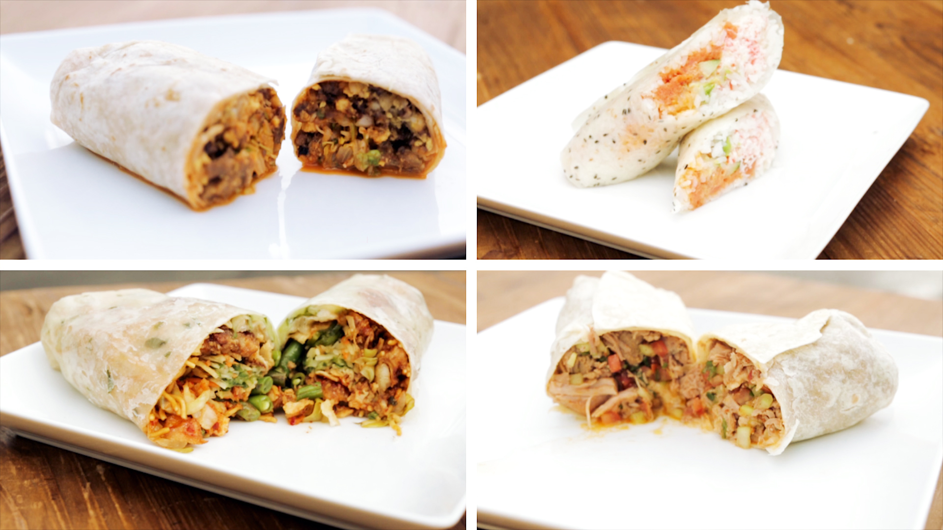Four Fusion Burritos You Need To Try ASAP