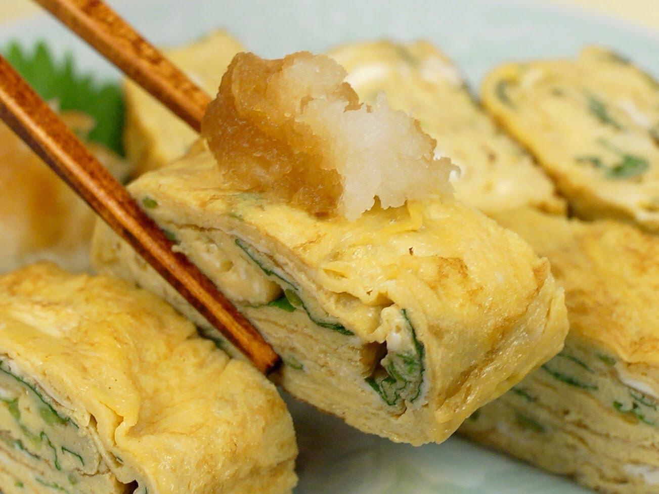 How to Make Tamagoyaki, Japanese Omelette