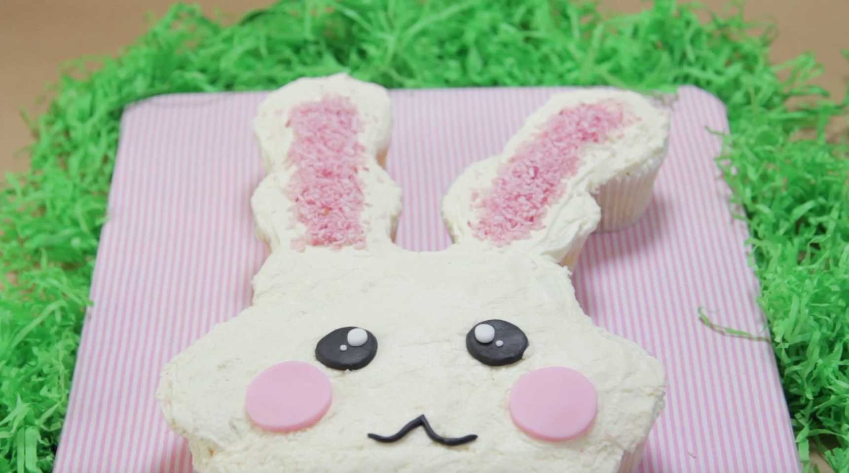 How to Make a Bunny Pull Apart Cake