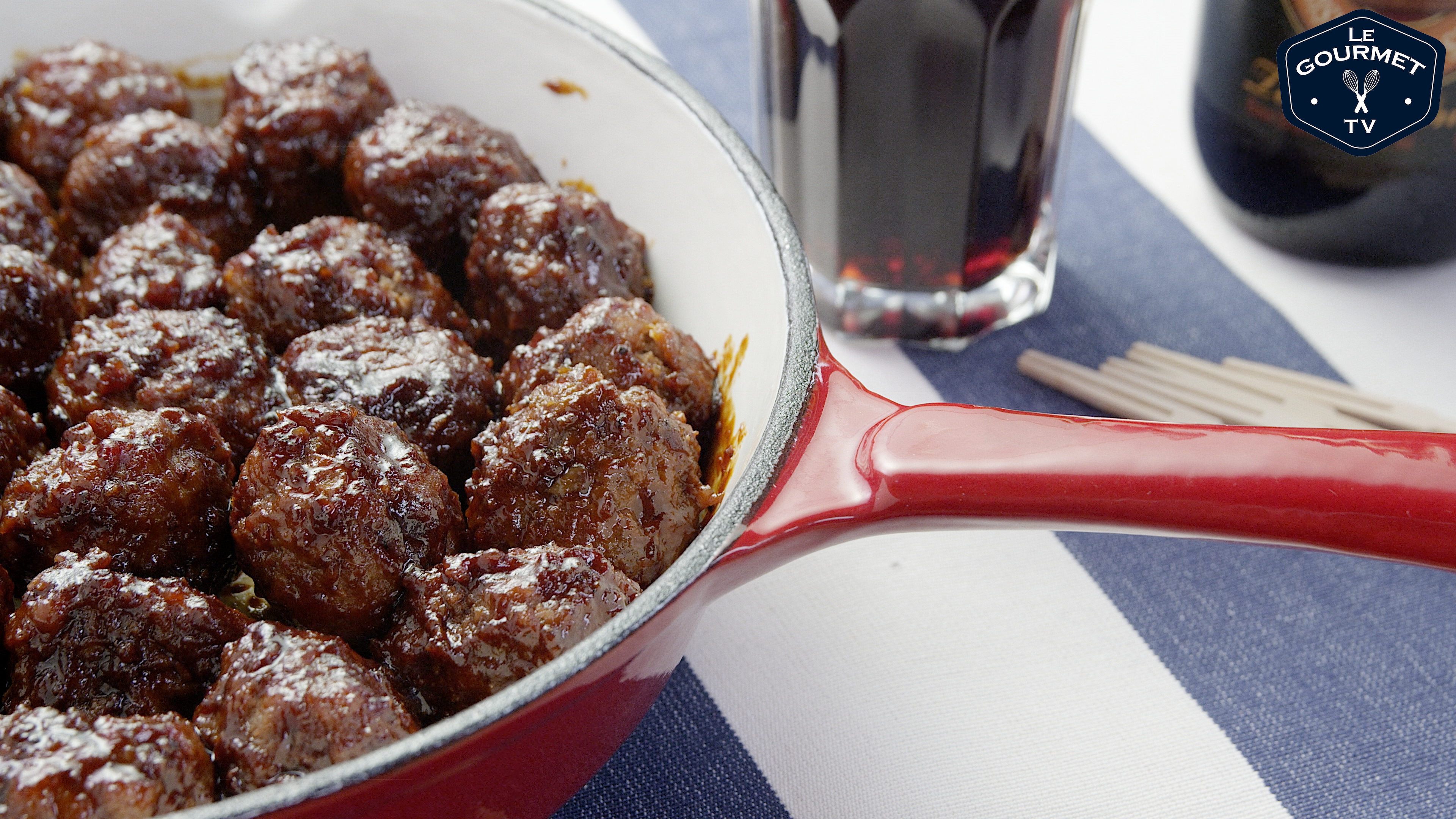 Stout Meatballs with Beer BBQ Sauce Recipe