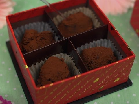 How to Make Valentine's Nama Chocolate