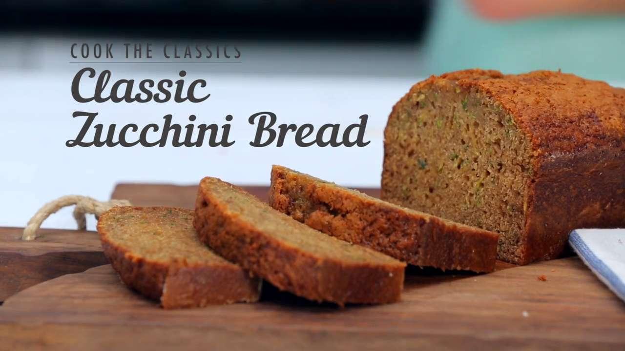 How to Make Classic Zucchini Bread