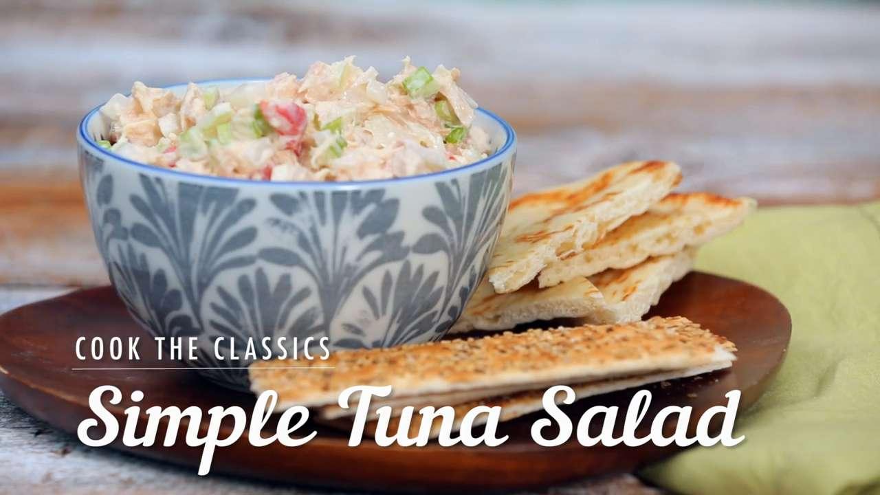 How to Make a Simple Tuna Salad