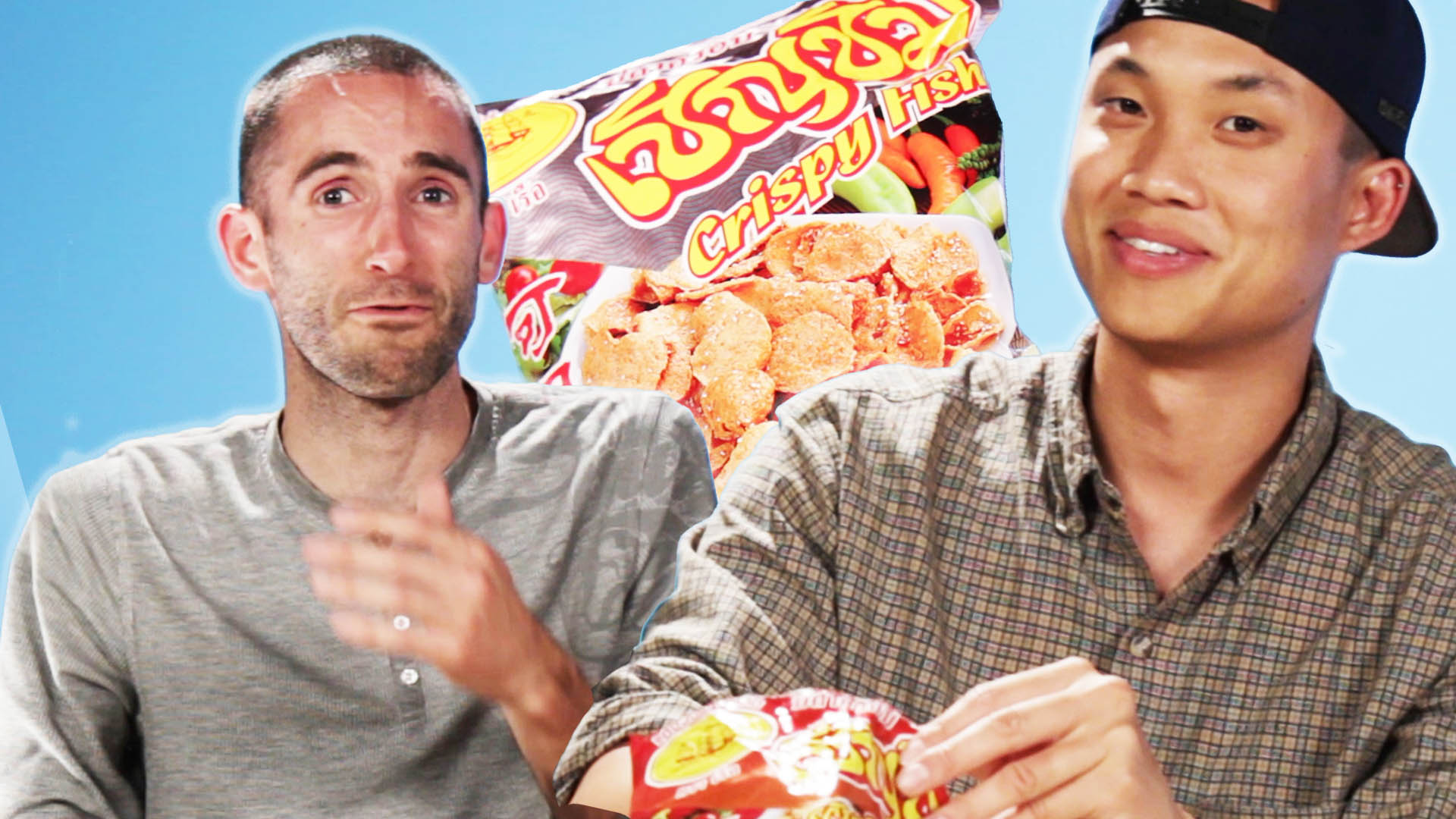 These Americans Tried Thai Snacks and Things Got Fishy