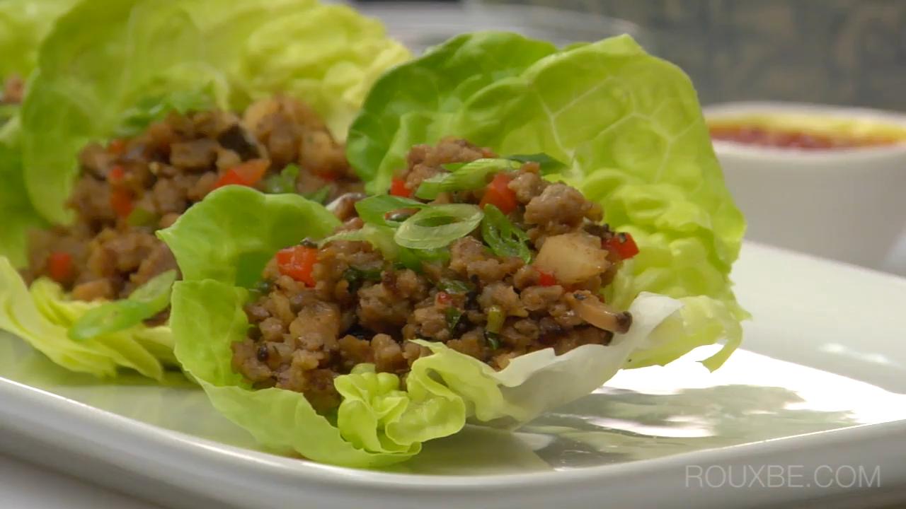 How to Make Beefless Lettuce Wraps I Plant Based