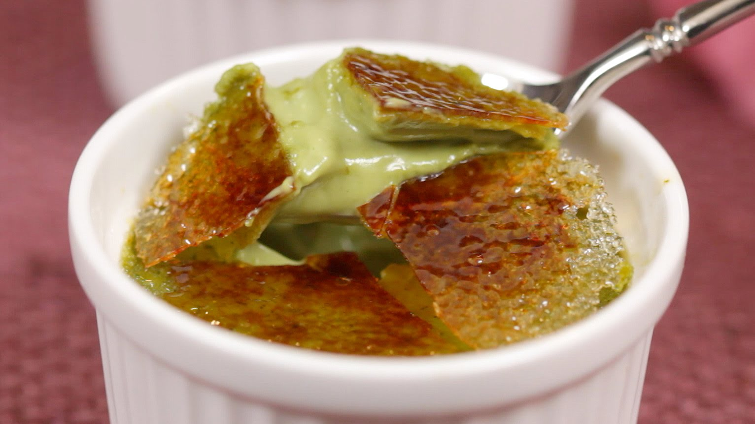 How to Make Green Tea Creme Brulee