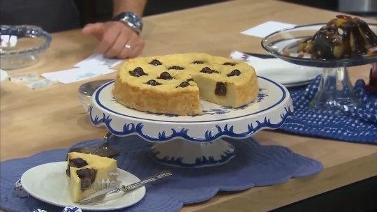 Francine Segan's Pasta and Chocolate Pie Recipe