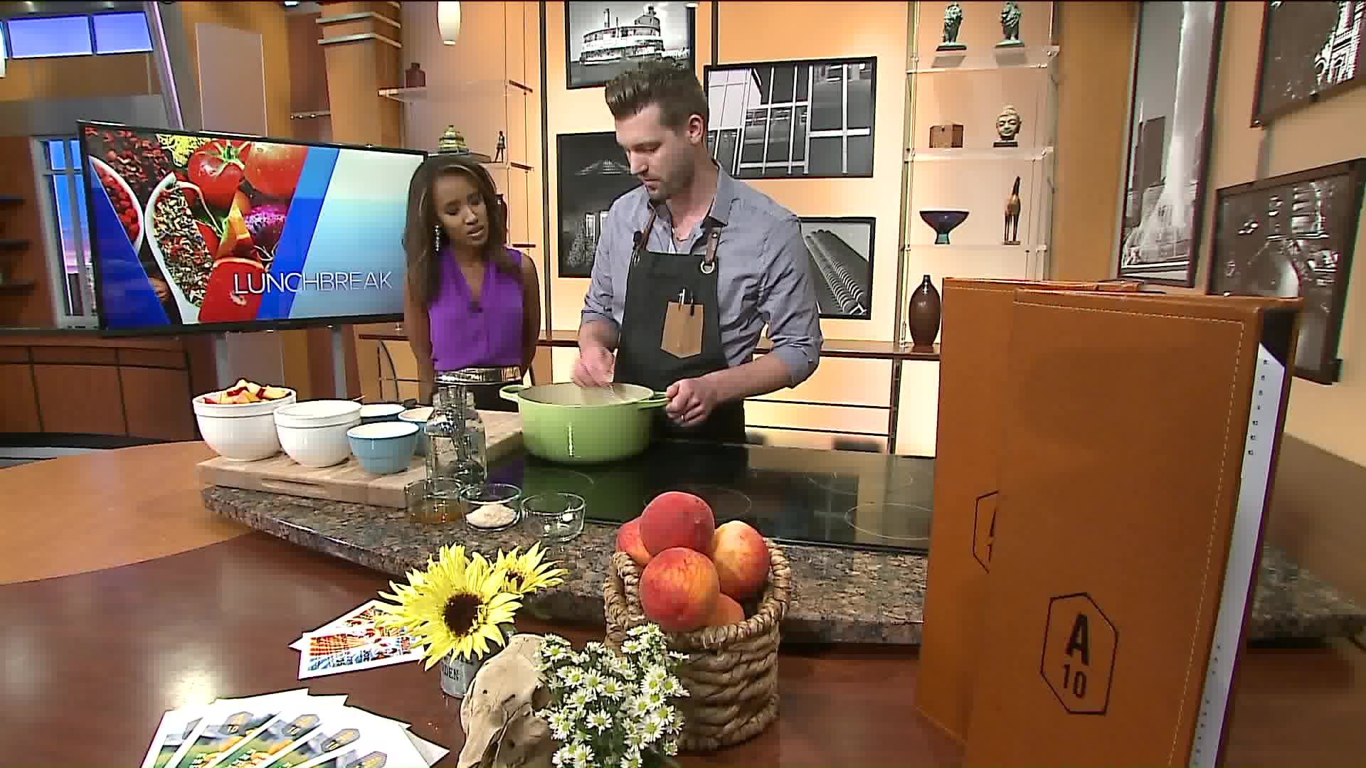 How To Make Chilled Peach Soup