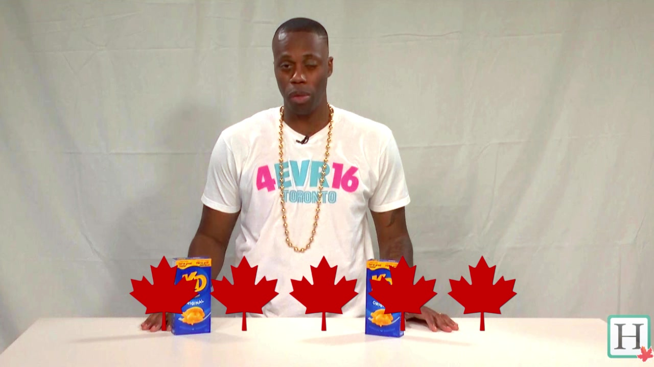 """Kardinal Offishall Tries Out The Most """"Canadian"""" KD Dishes"""