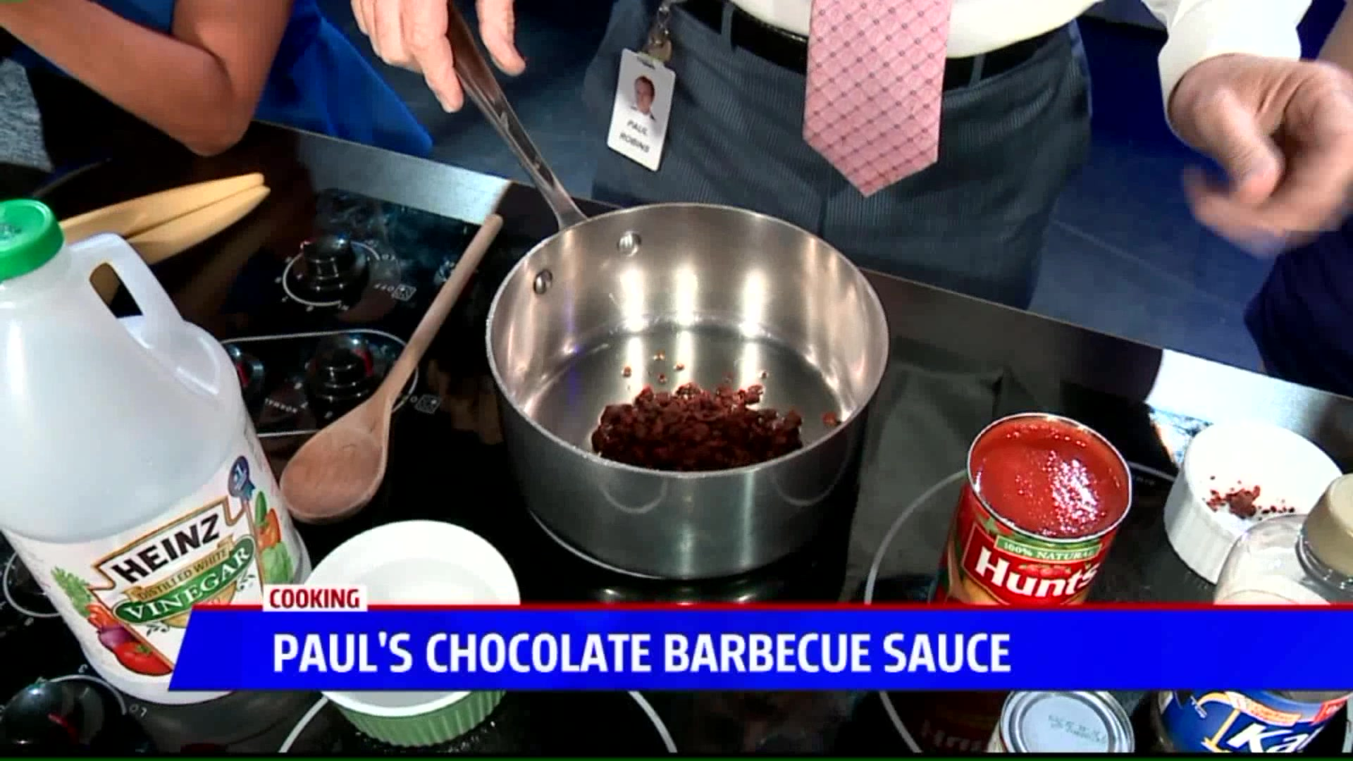 How to Make Chocolate Barbecue Sauce
