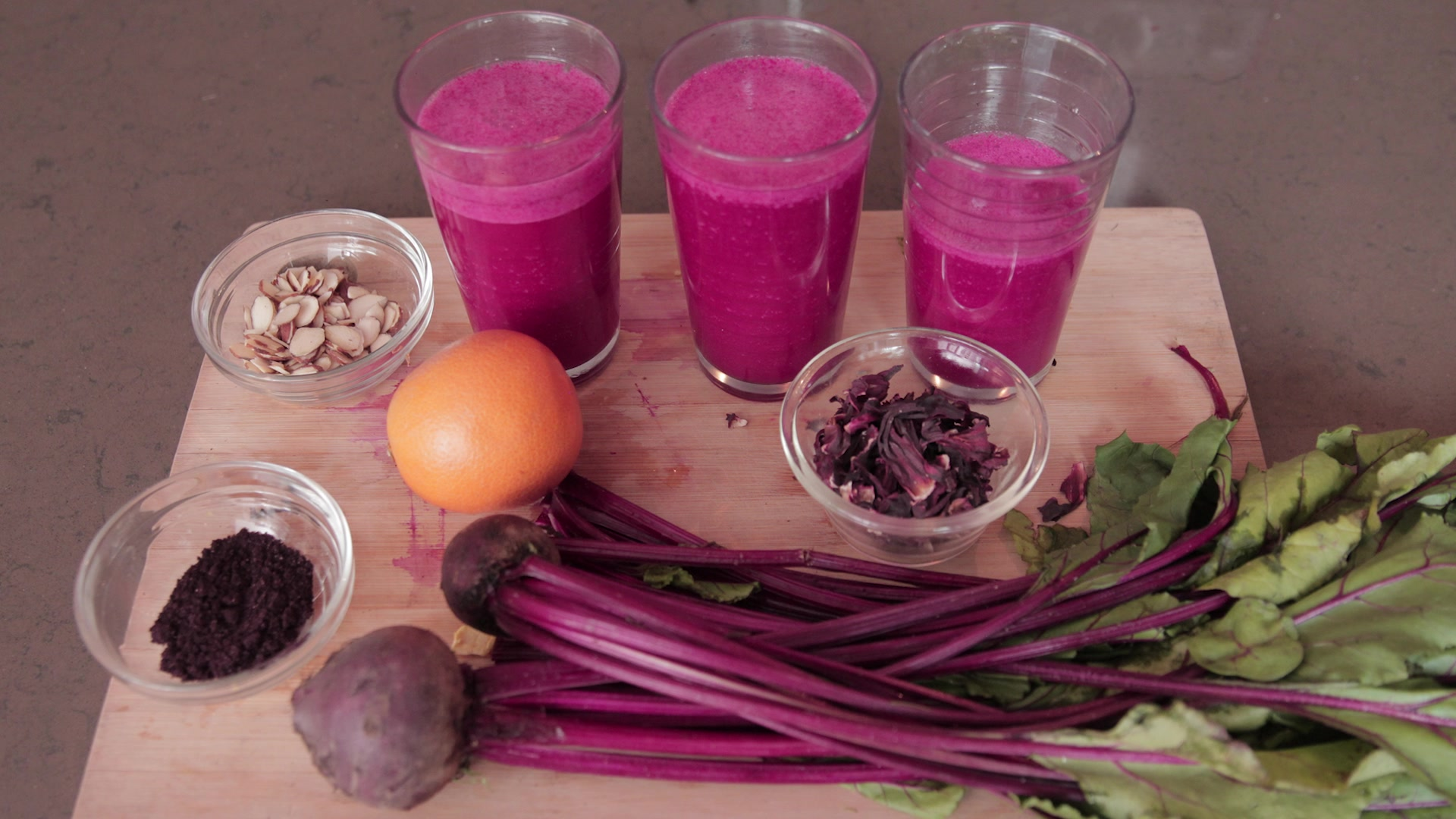The Ultimate Energy Boosting Pink Smoothie