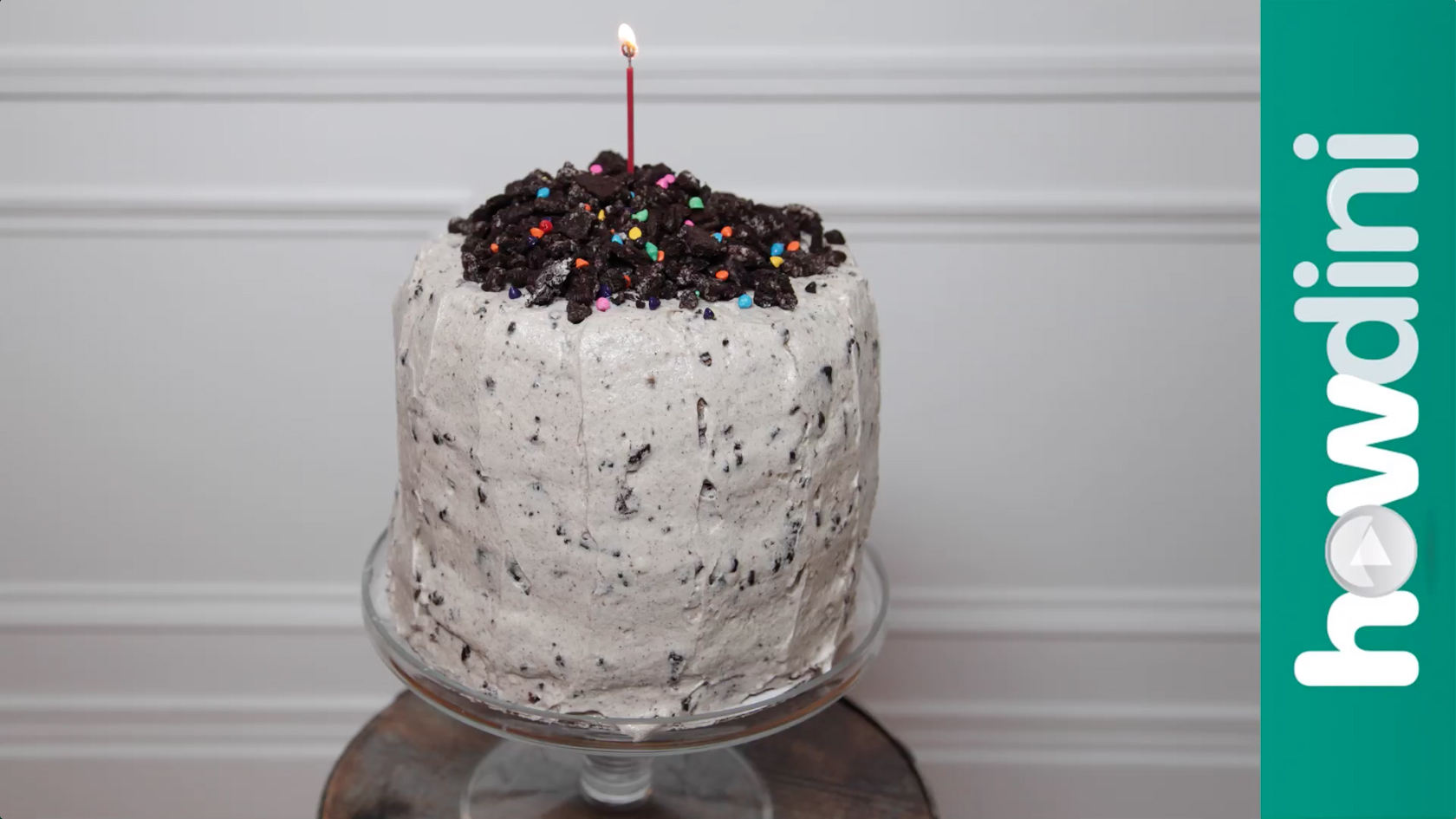 How to Make a Cookies and Cream Four Layer Cake