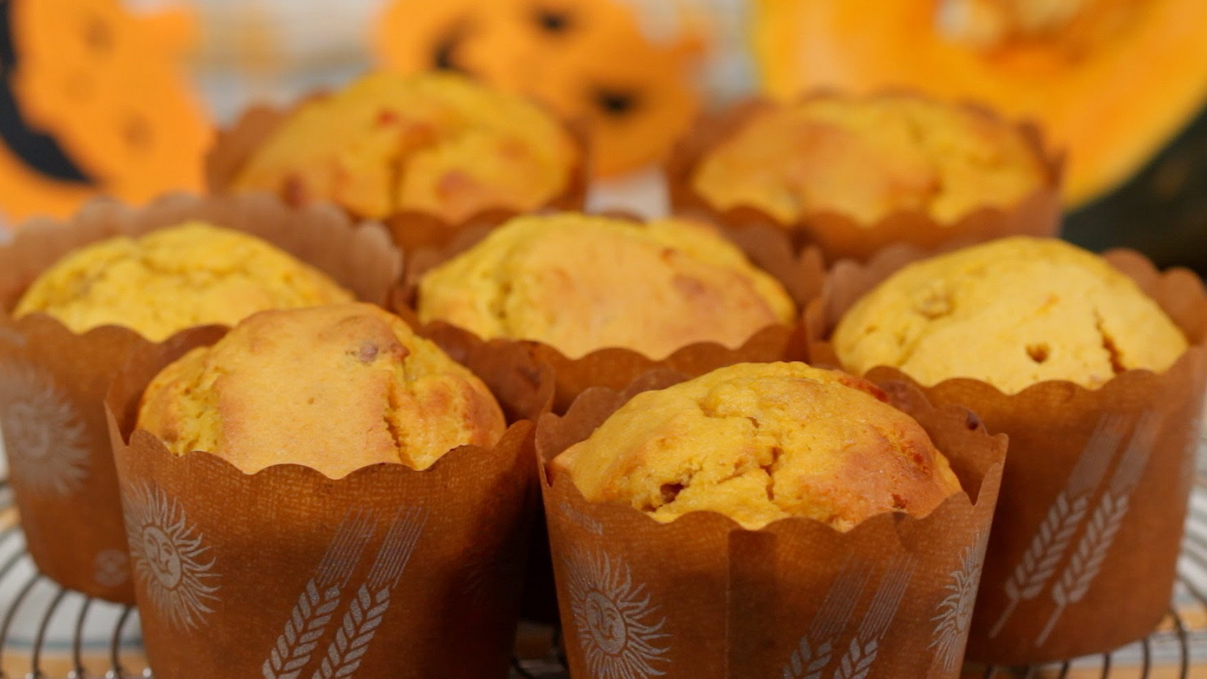 Pumpkin Muffins Halloween Recipe