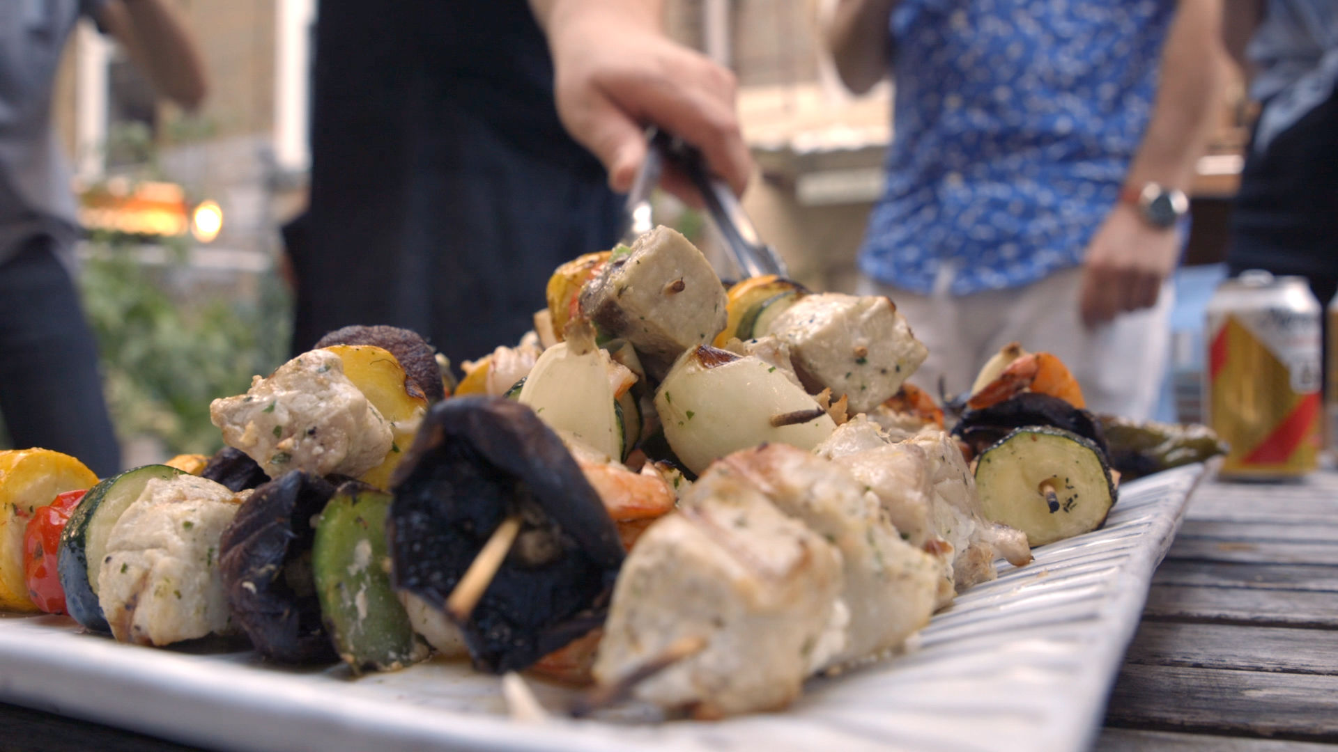 GQ's Guide to the Perfect Seafood BBQ: DIY Fish Skewers