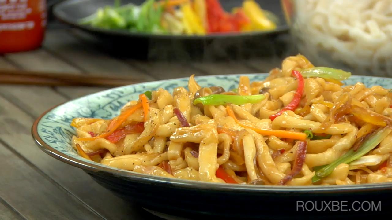 Fresh Udon Noodles I Plant-Based