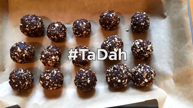 How to Make Healthy Chocolate Orange Bliss Balls In 45 Seconds