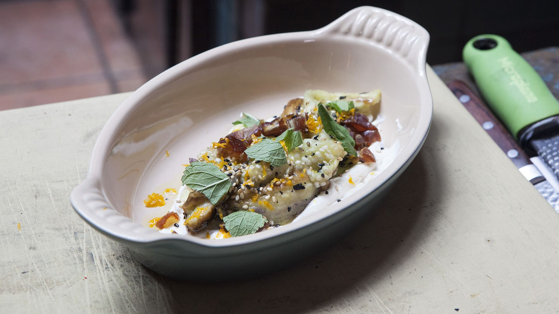 Spanish-Style Smoked Eggplant You Can Make at Home