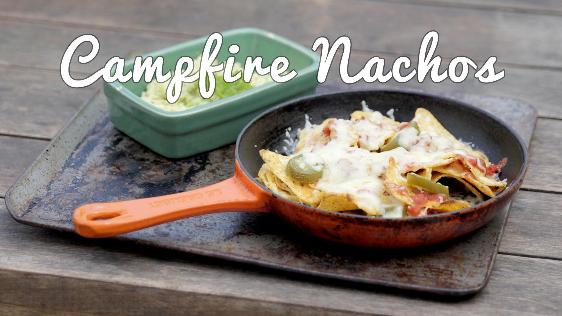 Easy Campfire Nachos Recipe