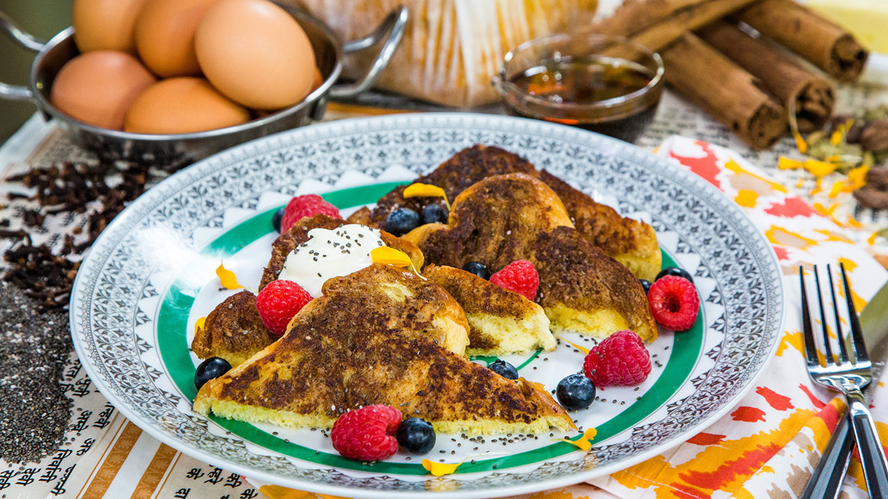 How to Make Chai Spiced French Toast
