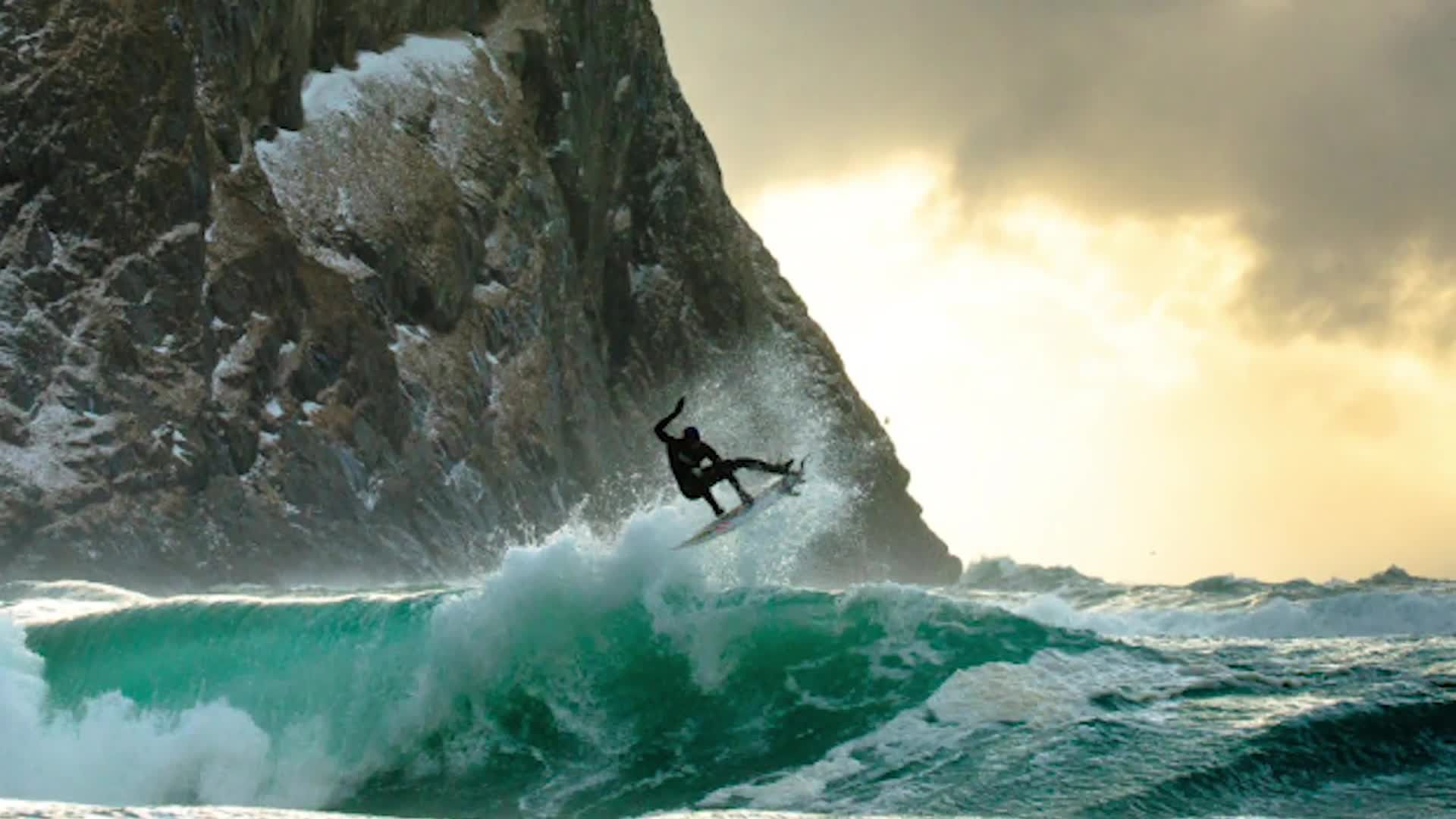 Talking Pictures: The Icy Surf Photography of Chris Burkard