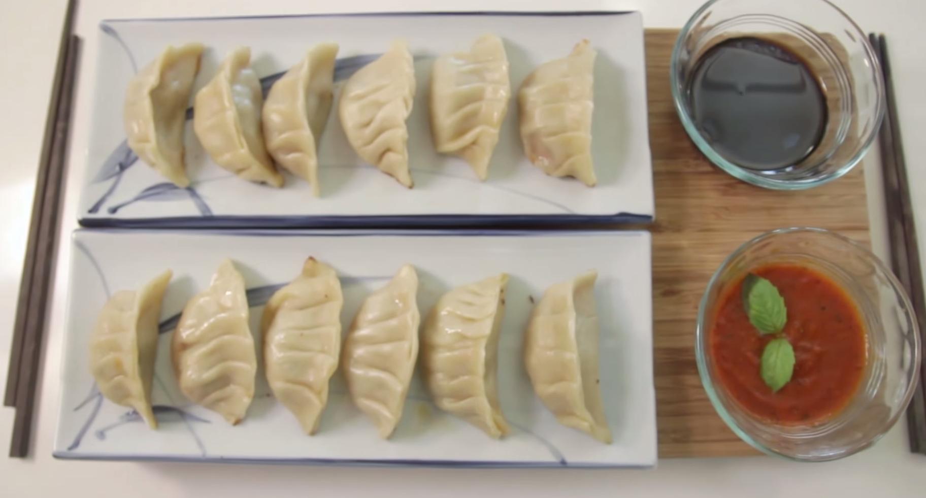 How to Make Pizza Gyoza from 'Teenage Mutant Ninja Turtles'