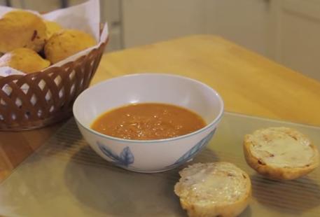 Sun Dried Tomato Thyme Roll Recipe
