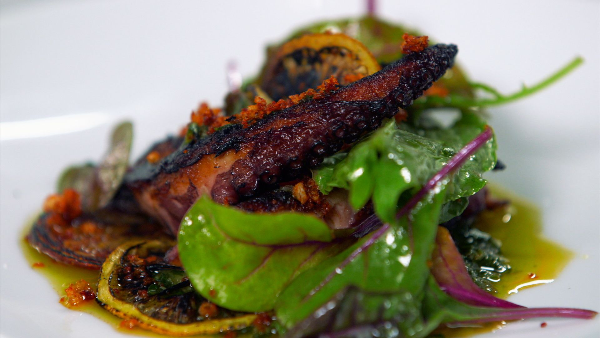 How to Make Charred Octopus and Salsa Verde