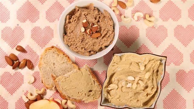 2 Homemade Nut Butter Recipes