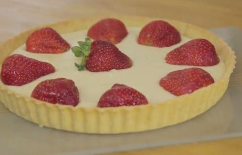 Strawberry Tart Recipe (Tarte Au Fraise)
