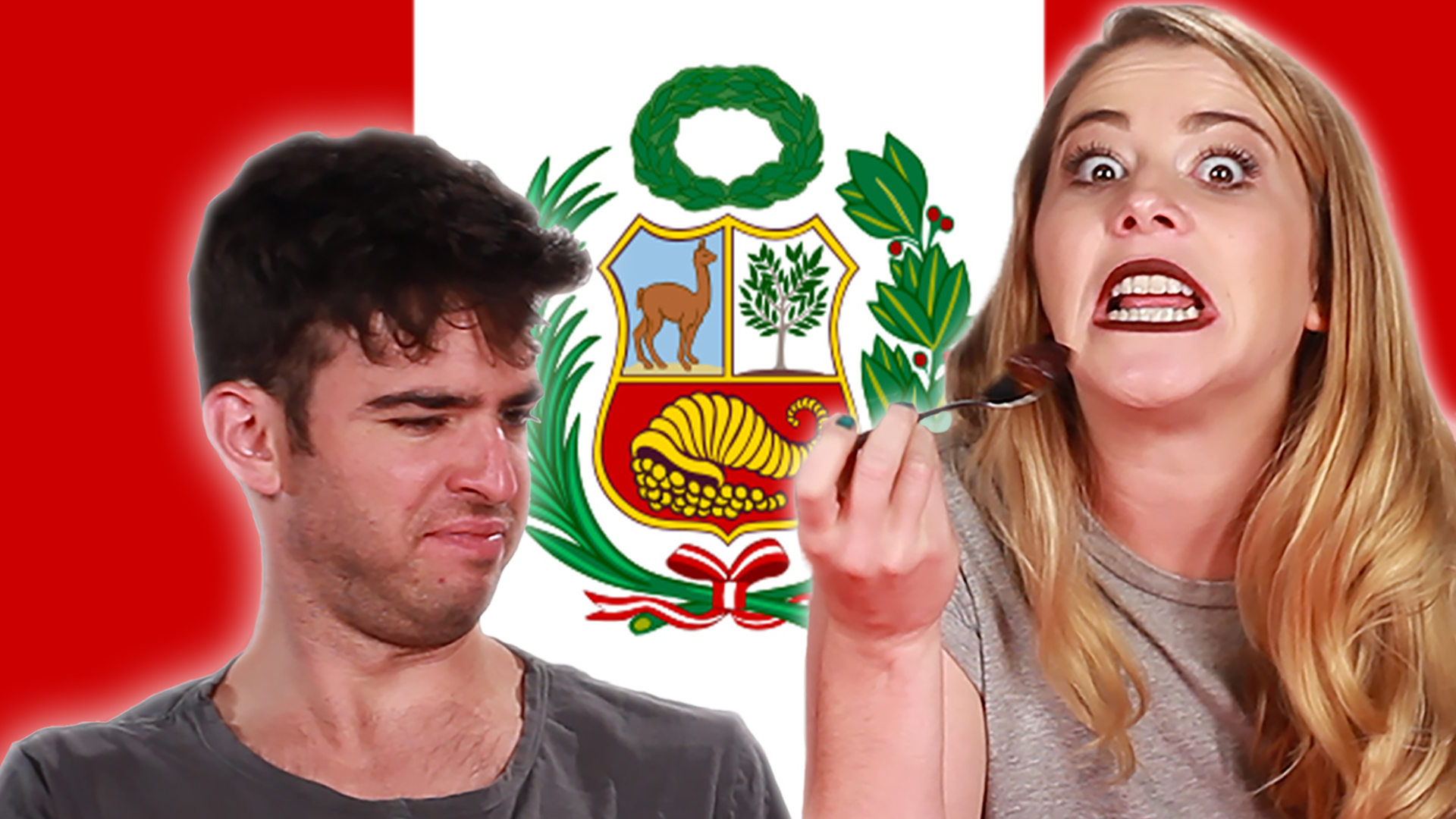 Americans Try Peruvian Food