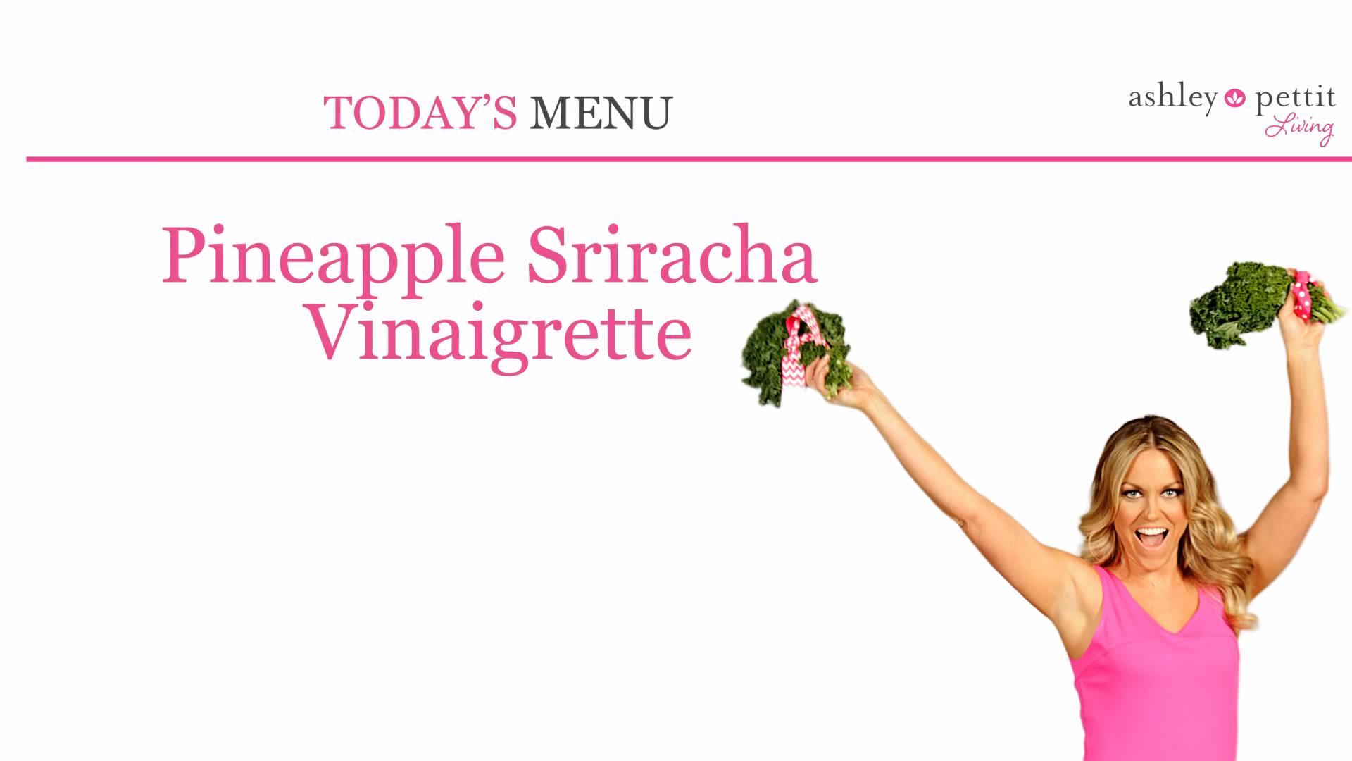 Ashley Pettit Living: Pineapple Sriracha Vinaigrette