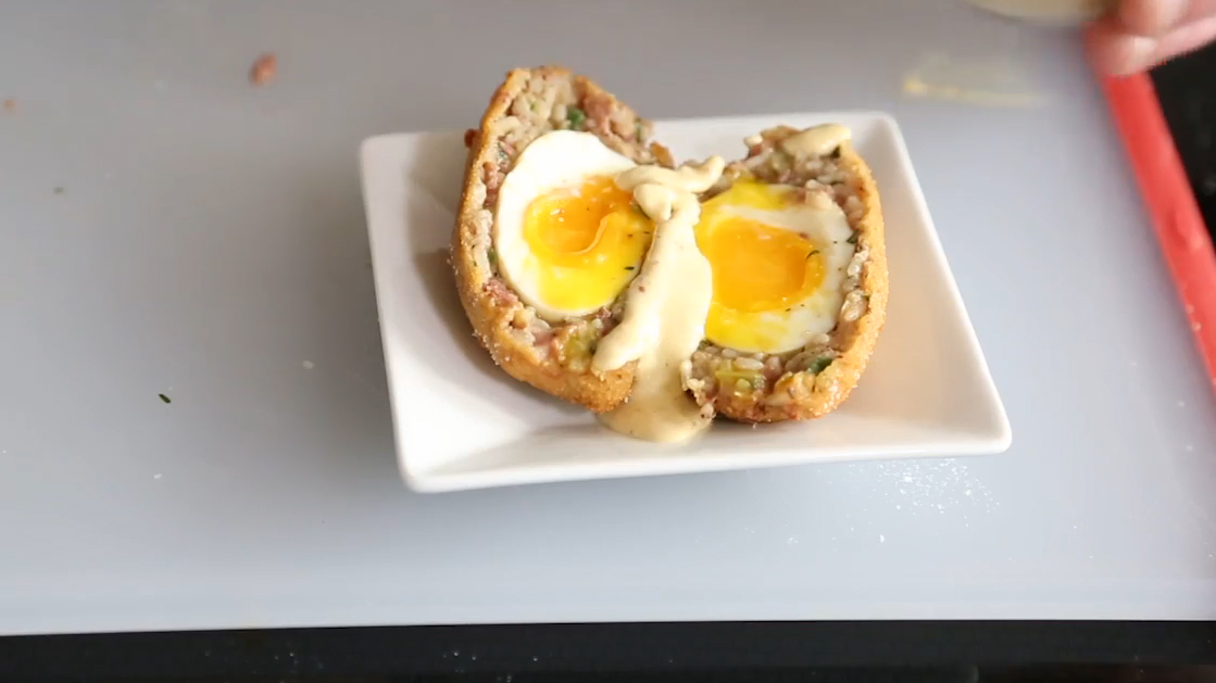 How to Make Boudin Scotch Eggs