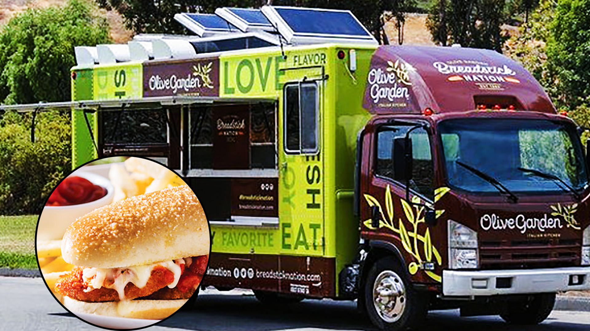 #BreadstickNation Is Coming! Olive Garden Food Trucks Touring the Country